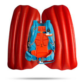 ABS P.RIDE Base Unit without Inflator Ocean Blue